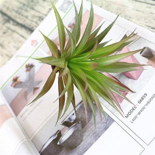 Planta Artificial Ornamental  Mini Agave 20 Cm Decoração