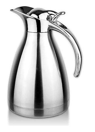 Garrafa Térmica Café Chá Água Quente Frio 2 Litros Modelo Luxo AG8814