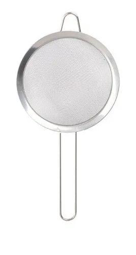 Peneira De Cozinha Com Cabo Aço Inoxidável 18 Cm Polvilhar