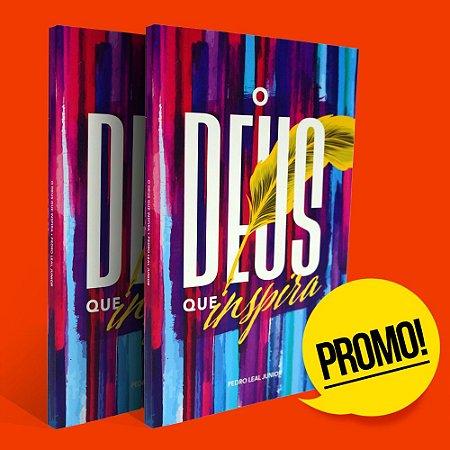 """Promoção """"O Deus que inspira"""" - Compre dois livros por apenas R$ 22,50"""