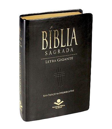 Bíblia Letra Gigante - NTLH - com índice