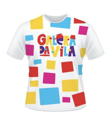 Camiseta Galera da Vila - infantil