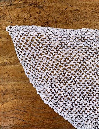 Véu Crochê Oval - Infantil