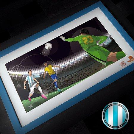 Argentina 2021 - Maracanazo Argentino (QUADRO)