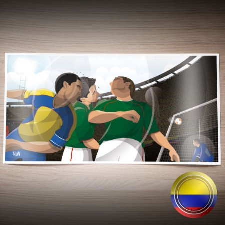 Colômbia 2001 - La Copa Cafetera (PÔSTER)