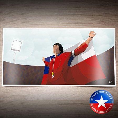 Chile 2001 - A Despedida (PÔSTER)