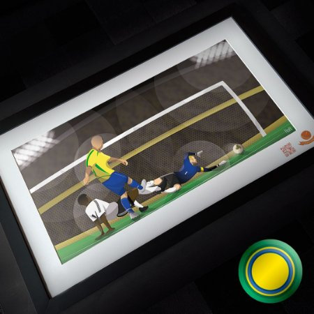 Brasil 2002 - É Penta (QUADRO)