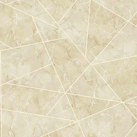 Papel de Parede Geométricos Efeito Mármore Elegance 3 EL202701R