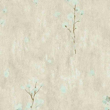 Papel de Parede Cimento Queimado com Flores Elegance 3 EL203302R