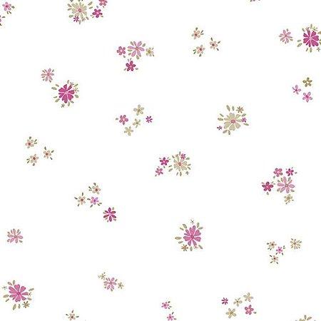 Papel de Parede Infantil Floral Ola Baby 2 OL220701R