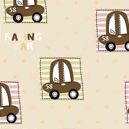 Papel de Parede Infantil Carros, Caminhões, Ônibus e Trens Hello Kids HK223401R