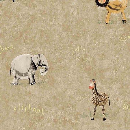 Papel de Parede Infantil Animais Hello Kids HK224405R