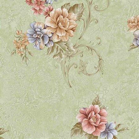 Papel de Parede Floral Moda em Casa 3 MD702302R