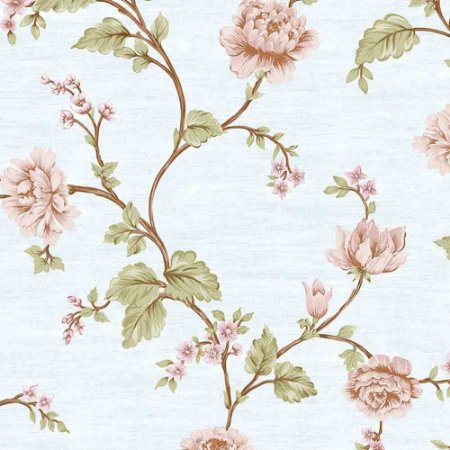 Papel de Parede Alto Relevo Floral Veneza VN7201030