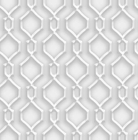 Papel de Parede Dimensões 3D Alhambra Cinza 4709