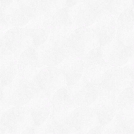 Papel de Parede Relevos Ondas Branco 3409