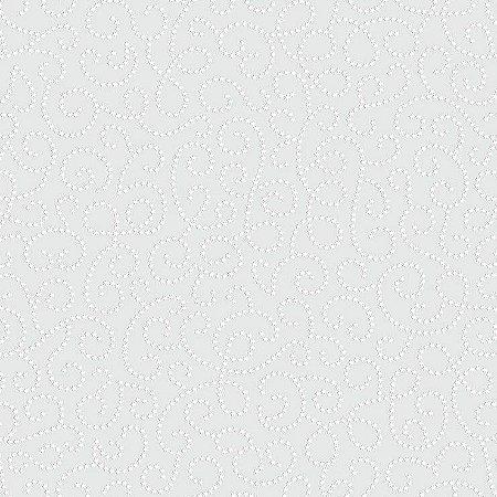 Papel de Parede Infantil Renascer Arabesco Cinza 6257