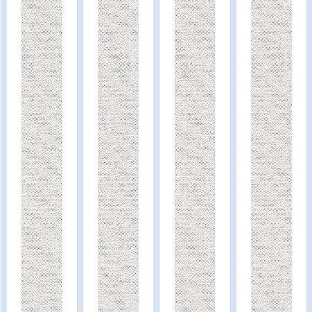 Papel de Parede Infantil Renascer Listrado Clássica Azul claro 6263