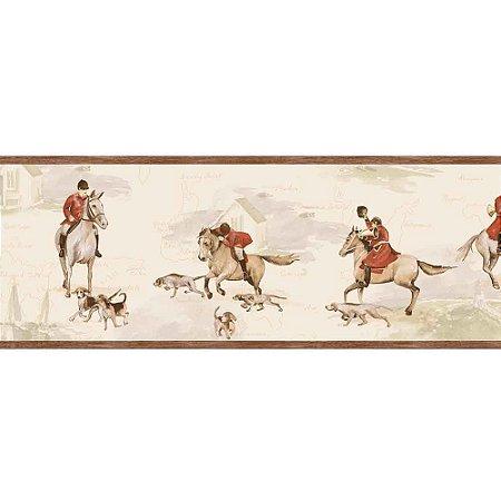 Faixas de Parede Baby Charmed Animais Cavalos BB220103B