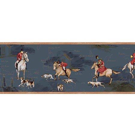Faixas de Parede Baby Charmed Animais Cavalos BB220105B