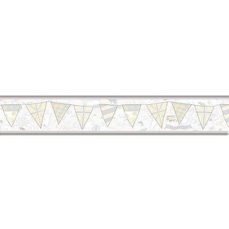 Faixas de Parede Baby Charmed Mapa Bandeiras BB220304B