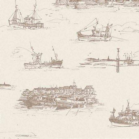 Papel de Parede Da Vinci 2 Temas Diversos Barcos Navios DV120504