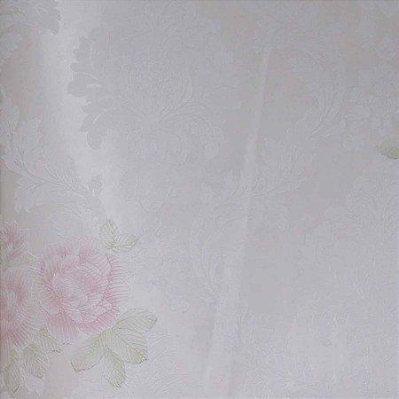 Papel de Parede Grace Arabesco com Flores (Floral) GR922002