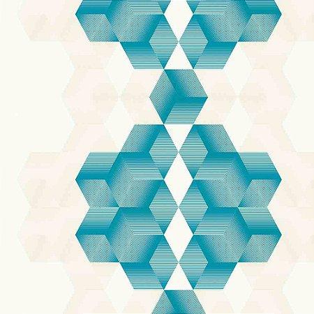 Papel de Parede Neonature 3 Geométricos 3D 3N850502R