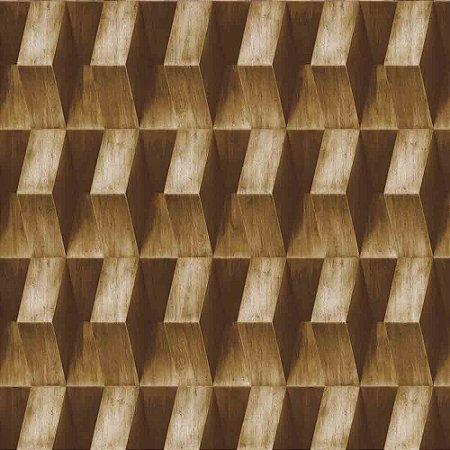 Papel de Parede Neonature 3 Geométricos 3D 3N850605R