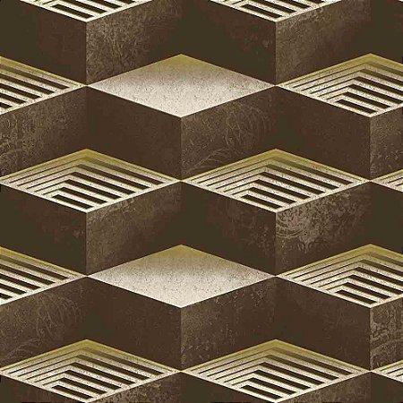 Papel de Parede Neonature 3 Geométricos 3D 3N850703R