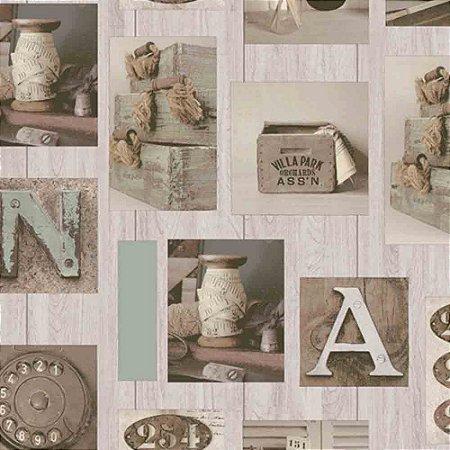Papel de Parede Neonature 3 Letras & Números 3N851502R