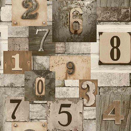 Papel de Parede Neonature 4 Letras & Números  4N854102R