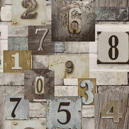 Papel de Parede Neonature 4 Letras & Números  4N854104R