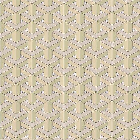 Papel de Parede New Form Geométricos 3D NF630106