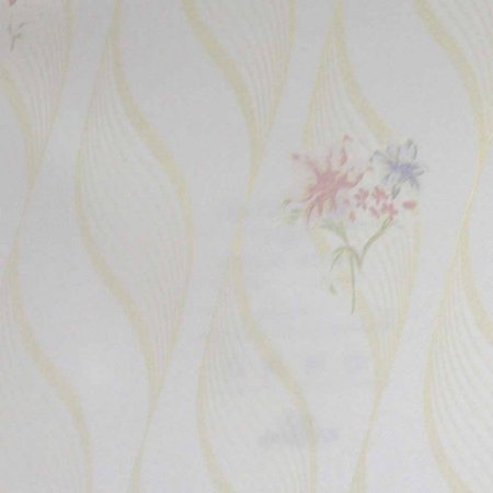 Papel de Parede Scenery 2 Geométricos com Ondas e Flores SC29055