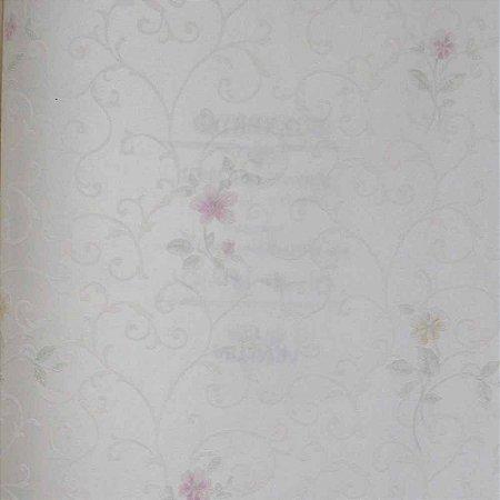 Papel de Parede Scenery 2 Floral com Arabesco SC29072