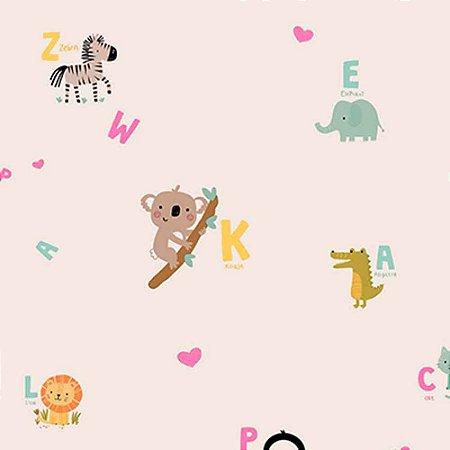Papel de Parede Infantil YOYO Letras & Números YY222503R
