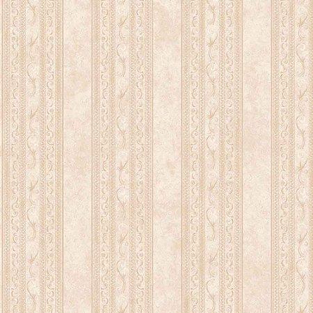 Papel de Parede Elegance Alto Relevo Listrado com Arabesco EL201001K