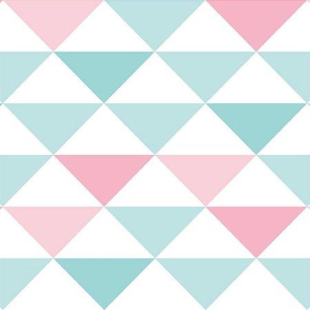 Papel de Parede Infantil Brincar Geométricos 3600
