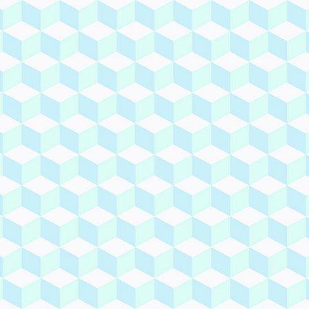 Papel de Parede Infantil Brincar Geométricos 3644