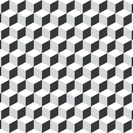 Papel de Parede Infantil Brincar Geométricos 3646