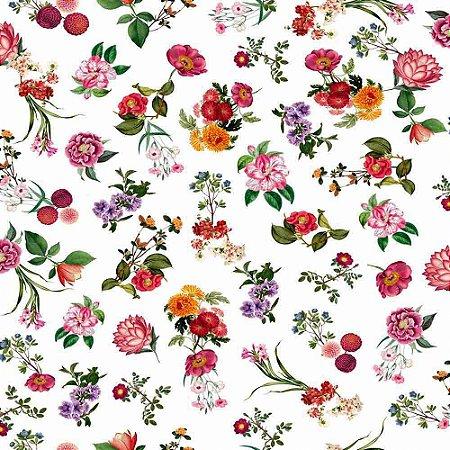 Papel de Parede Infantil Brincar Floral 3651