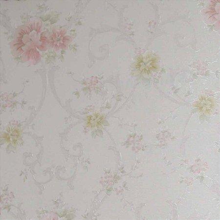 Papel de Parede Rubi Floral RU890102