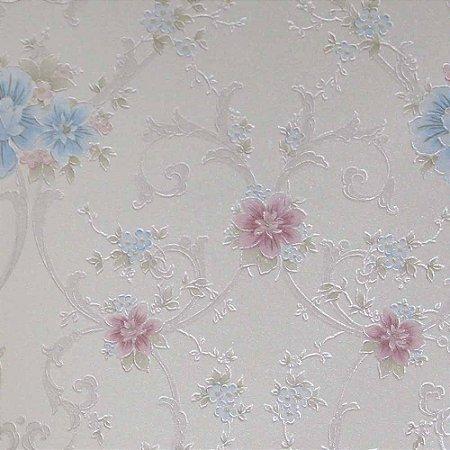 Papel de Parede Rubi Floral RU890106