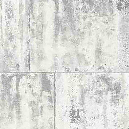 Papel de Parede Stone Age 2 Cimento Queimado Cinza SN604901R
