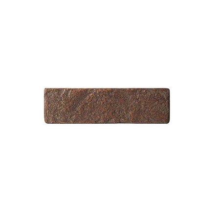 Revestimento de Parede Ecobrick 27cm x 7,5cm Ferrugem 27491 - Caixa 24 unidades