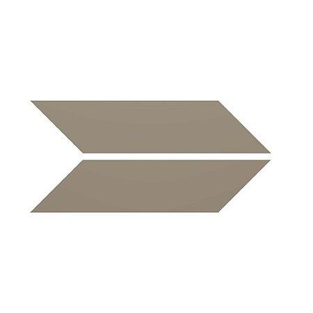 Revestimento de Parede Chevron Liso 35,5cm x 7cm Rupestre 21342