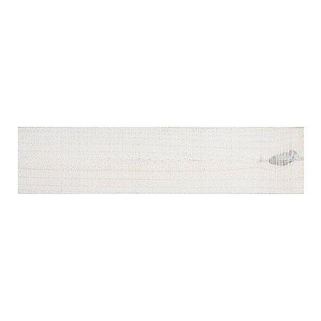 Revestimento de Parede Wood Panel 60cm x 13,5cm Branco 21364