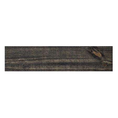 Revestimento de Parede Wood Panel 60cm x 13,5cm Preto 21395