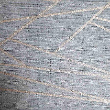 Papel de Parede Elegance 2 Geométricos Cinza EL201606R